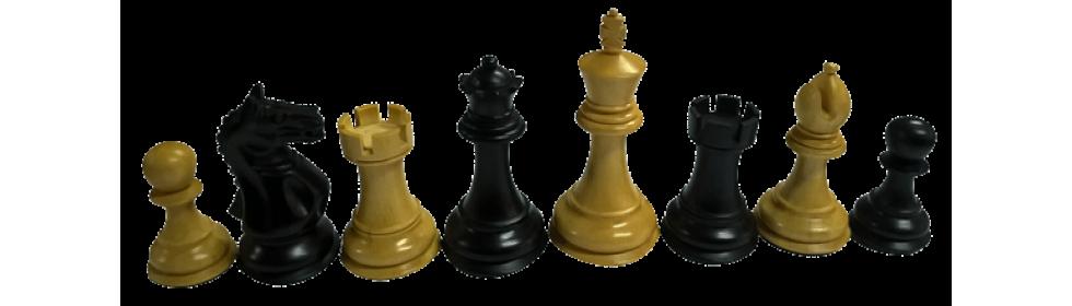 Drvene šahovske figure Supreme boxwood-ebonised